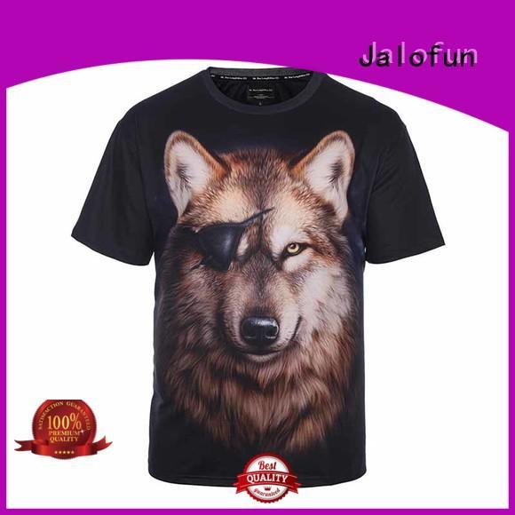 Jalofun high quality customized tee shirts factory for outdoor activities