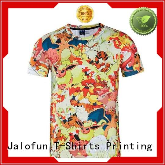Jalofun comfortable cheap funny shirts free design for summer