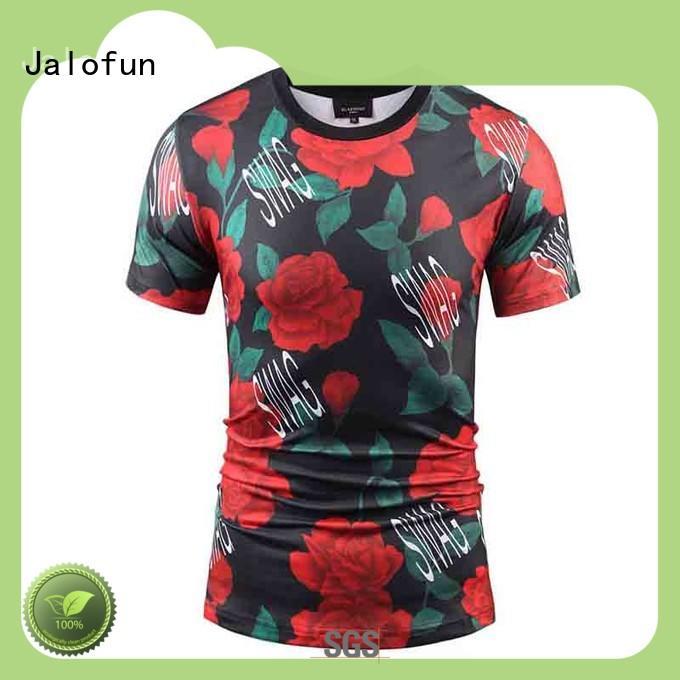 Jalofun printed direct to garment printing t shirt with cheap price for man