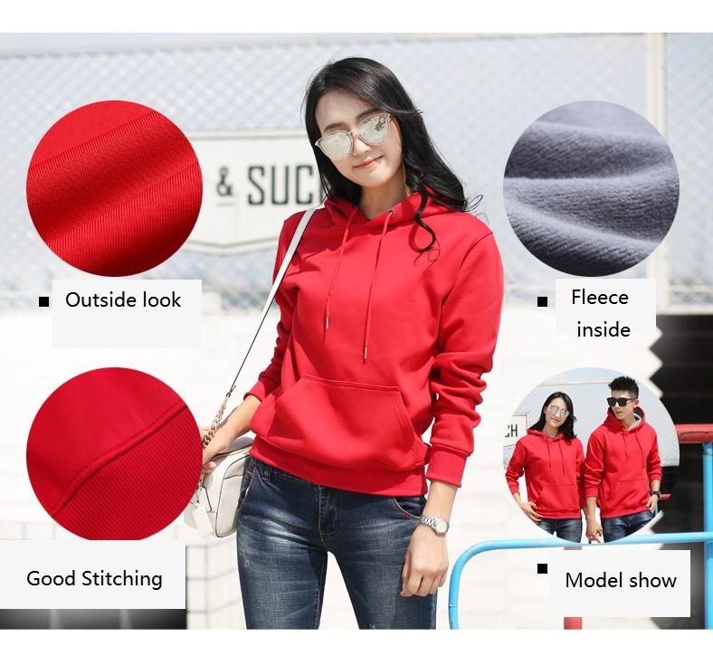 High-quality custom made sweatshirts fleece manufacturers for woman-4