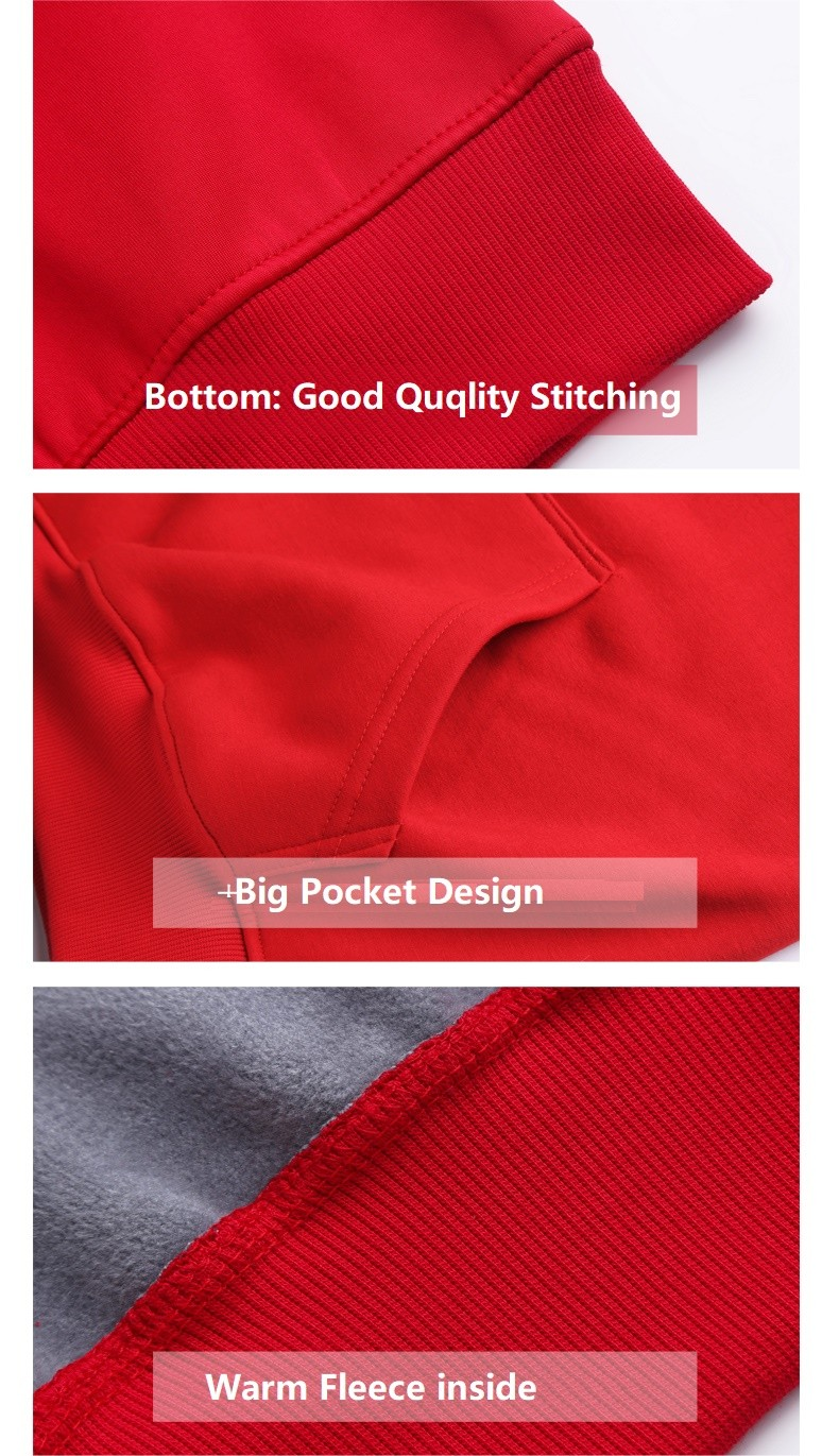 High-quality custom made sweatshirts fleece manufacturers for woman-6